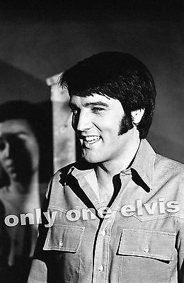 ELVIS PRESLEY in the Movies 1969 Photo CHANGE of HABIT on the set rare 09