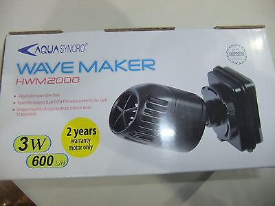 HWM2000  Wave Maker 600L/H for Fish Tank Aquarium