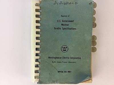 Vintage Rare Westinghouse Electric Corporation Bettis Atomic Power Laboratory