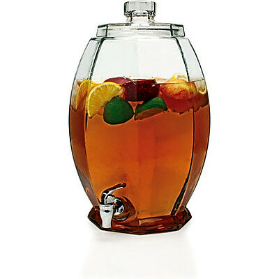 New 3-Gallon Beverage Dispenser Party Tea Cold Juice Water Jar Outdoor Indoor
