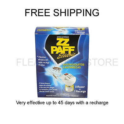 INSECTICIDE KILL MOSQUITO ELECTRIC ZZ PAFF up to 45 days with 1 recharge