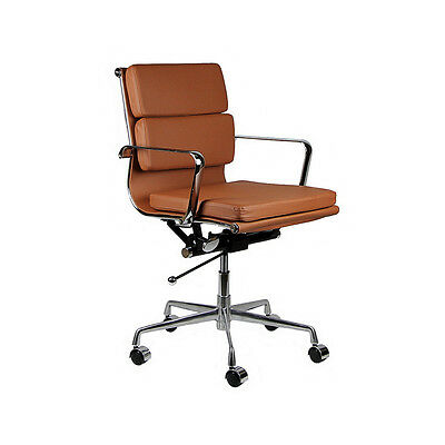 Eames Style Mid Century Modern Soft Pad Office Chair - New With Minor Blemish