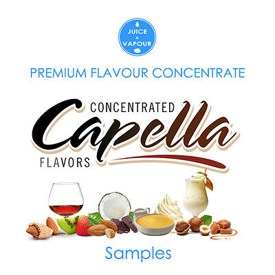 Flavour Concentrate - Capella 5ml Samplers (Save up to 20%)