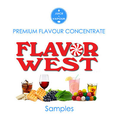 Flavour Concentrate - Flavor West 5ml Samplers (Save up to 20%)