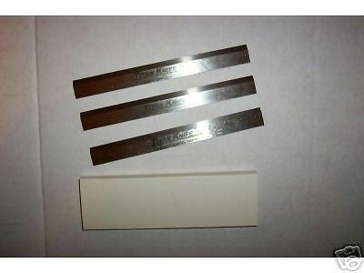 Hss Planer Knives 24-1/8 X 1-3/16 X 1/8 Grizzly G6705 New 4 Knife Set