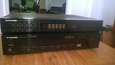 classic PIONEER SA 1290 Amplifier / Graphic Equalizer / 110 Watts per channel
