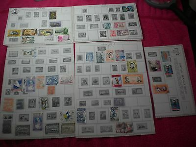 vintage stamps jordan nigeria guatemala and more