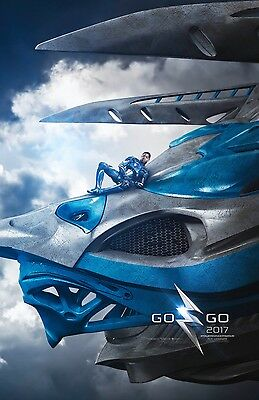 "Power Rangers 2017 ""Billy Blue Ranger"" 13.5x20 Promo Movie POSTER"
