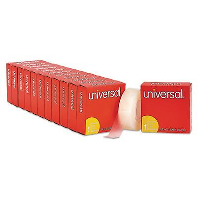 """Office Tape- Universal Brand Invisible Tape; 3/4 x 1296"""", 12 Rolls"""