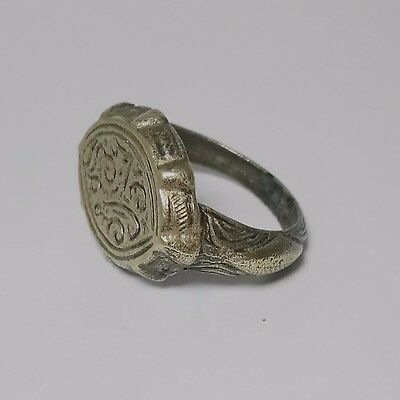 Rare Antique Old Islamic Silver Ring