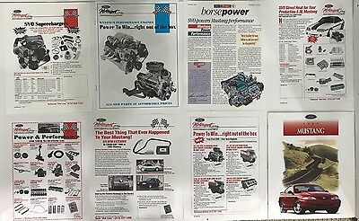 Authentic Ford SVO / SVT Company promotional / sales literature - 1990's Mustang