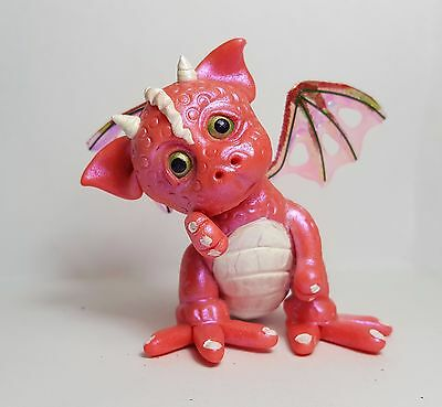 *Gail's Fantasy Babies*Polymer Clay*Miniatures*OOAK Dragon*