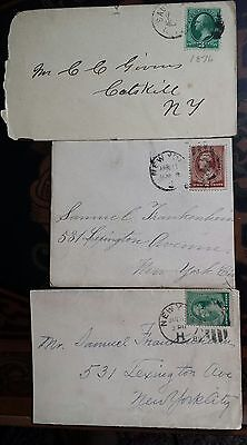 3 Scott#158,210,213 ON COVER  US STAMPS COLLECTION USE PHOTOS FOR DISCRIPTION