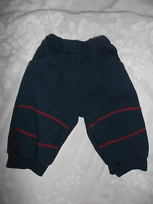 """""""beansprouts"""" Baby Boys Navy Blue Pants ** Size 0"""