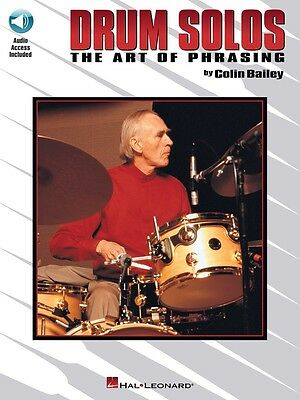 Drum Solos: The Art of Phrasing - Music Book with Online Audio Access