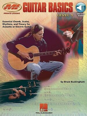 Guitar Basics - Level 1 Music Book with Online Audio Access