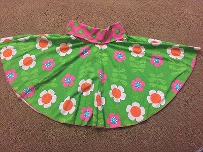 NWT, Corky's Kids.  Hot Pink And Green Flower Skirt.  Size 6X