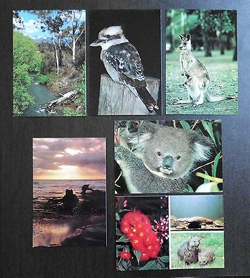 AUSTRALIA - pre-stamped Postcards Series IV, Natural Heritage Selection pack
