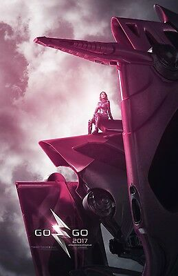 "Power Rangers 2017 ""Kimberly Pink Ranger"" 13.5x20 Promo Movie POSTER"