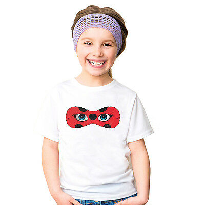 Cartoon Kids Girls Miraculous Ladybug Cat Noir T-shirts Child Casual Tee Top kid