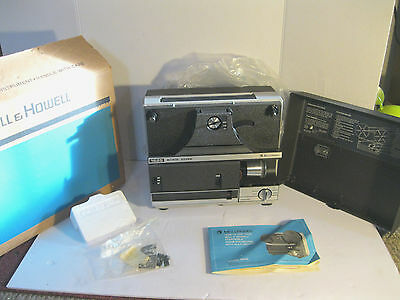 Vintage Bell & Howell Movie Projector Model 1623Z 8mm Player