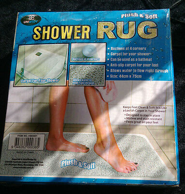 Shower Rug Bathmat loofah mat non slip *Local pick up only*