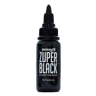 Tattoo inks tattoos body art health beauty 6 104 for Zuper black tattoo ink intenze
