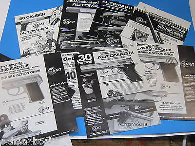 1994 Amt Arcadia Pistol Firearms Catalog Dealer Price Gun Brochures Rifle