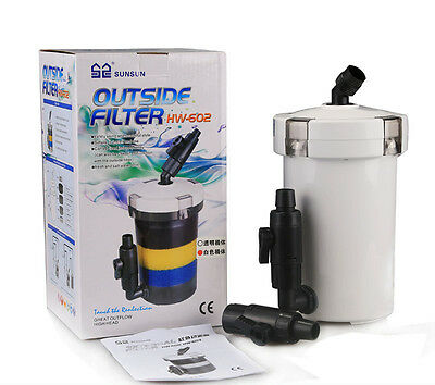 SUNSUN HW-602 Aquarium 1.5L External filter bucket For Fish Tank AK808