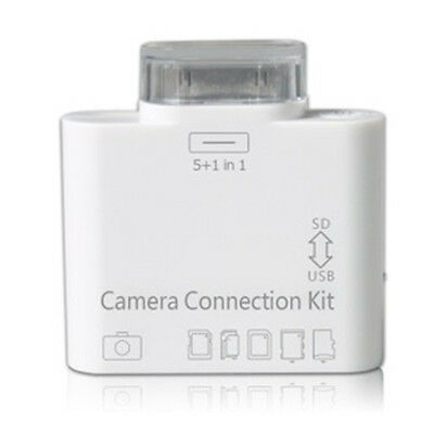 5 in1 Camera USB Connection Kit SD TF Card Reader Adapter For Apple iPad 2 3 K5