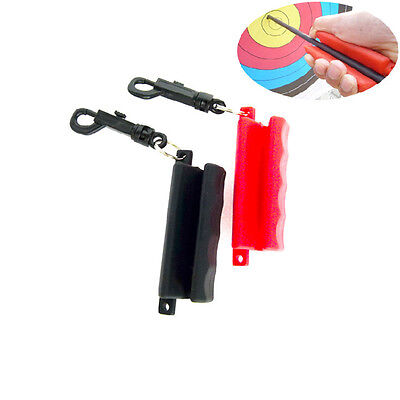 Fashion Silicone Rubber Archery Arrow Puller Remover Hand Saver Keychain Clip US