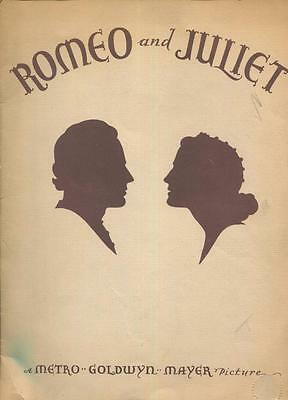 Romeo and Juliet,Metro Goldwyn Mayer Picture Shearer,Howard Souvenir program