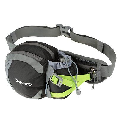TOMSHOO Water-resistant Waist Bag Pack with Water Bottle Holder for Hiking