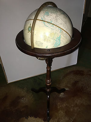Vintage Floor Standing Cram Imperial World Globe (Ussr, Yugoslavia) Made In Usa