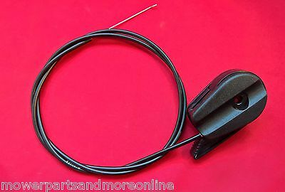 "Lawnmower Throttle Cable & Control 51"" With Z-Bend Ready To Fit Or Cut & Bend"