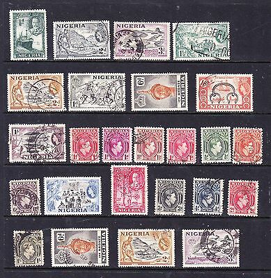 Nigeria stamps - 25 Used