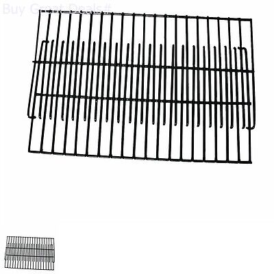 Replacement BBQ Porcelain Enameled Non-stick Cooking Grill Grates Cooking Grid