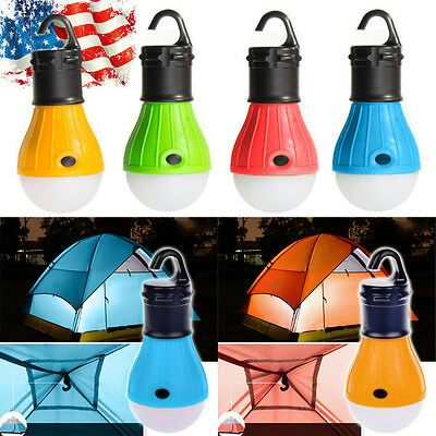Emergency Lamp Tent Light LED Portable Lantern Bulb Outdoor Camping Hiking US