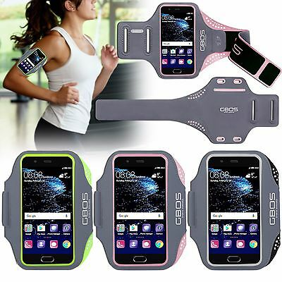 GBOS® Armband For Huawei P9, P9 LITE & P9 PLUS With Adjustable Gym Exercise Case