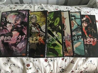 Seraph Of The End Owari No Serafu Japanese Manga Books 1-8 Anime