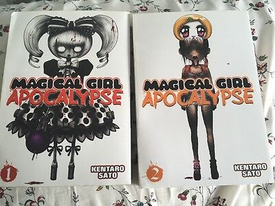 Magical Girl Apocalypse Manga Books 1 And 2 Japanese English Anime