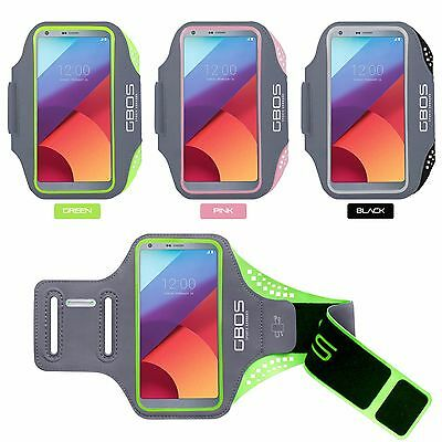 GBOS® Gym Armband For LG G6 Adjustable Running Jogging Workout Exercise Case