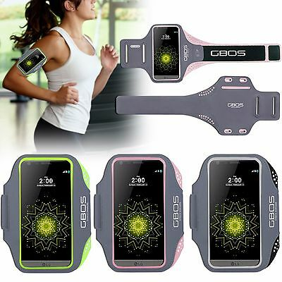 GBOS® Gym Armband For LG G5 Adjustable Running Jogging Workout Exercise Case