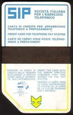 Italy: SIP - First Issue Card - Control 00. Excellent Condition.  Phone Card
