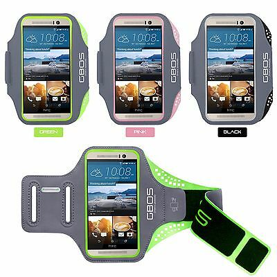GBOS® Gym Armband With Adjustable For Phone HTC 10 Jogging Exercise Running Case