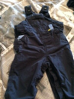 Boys Dungarees And Top Set 6/9 Months