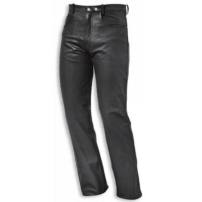 Held Cooper Black Moto Motorcycle Motorbike Mens Leather Jeans All Sizes