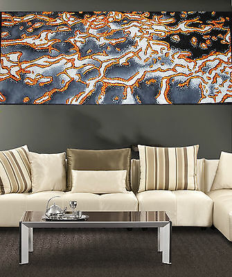 Authentic Aboriginal Art By Jane Crawford COA Huge  reef coral sea collectable