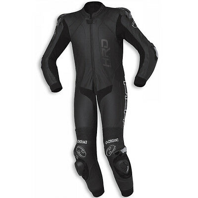 Held Slade Slender Black Motorcycle Slim Fit One Piece Leather Suit All Sizes