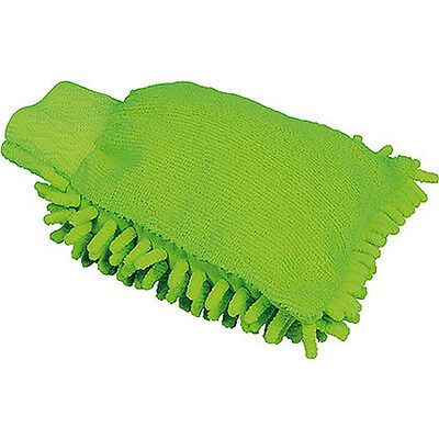 Gear Gremlin Motorcycle Motorbike Highly Absorbent & Super Soft Green Wash Mitt